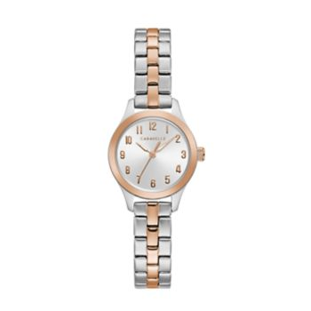 Caravelle Women's Two Tone Stainless Steel Watch - 45L175