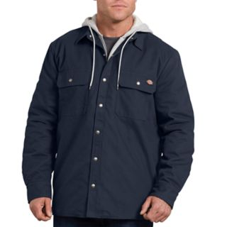 Men's Dickies Relaxed-Fit Hooded Duck Shirt Jacket