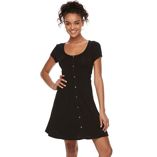 cb3c5af4166 juniors-so-button-front-short-sleeve-dress by juniors-