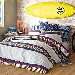 Hang Ten Ocean Beach Duvet Cover Set