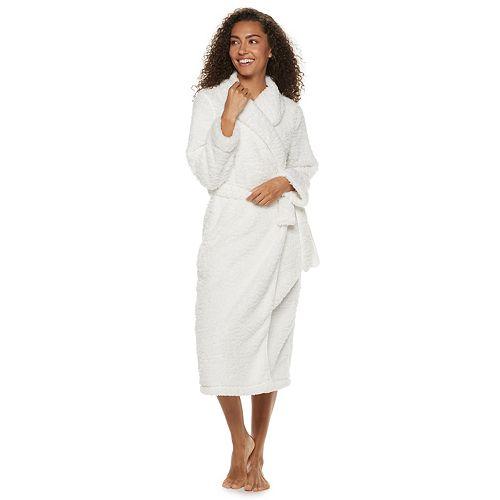 Women's SONOMA Goods for Life™ Textured Plush Wrap Robe