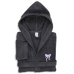 Linum Home Textiles Kid's Turkish Cotton Hooded Terry Bathrobe
