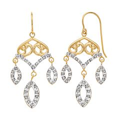 Diamond Mystique Chandelier Drop Earrings