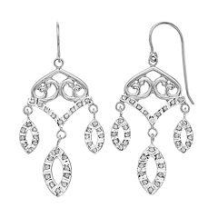 Diamond Mystique Chandelier Drop Earrings