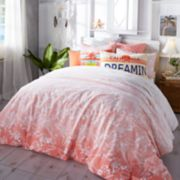 Hang Ten Ombre Hibiscus Duvet Cover Set