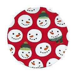 St. Nicholas Square® Snowman Salad Plate