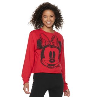 Disney's Mickey Mouse 90th Anniversary Juniors' Minnie Mouse Sketch Top