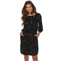 Petite Apt. 9® Balloon Sleeve Blouson Dress