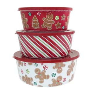 St. Nicholas Square® 3-pc. Holiday Stacking Container Set