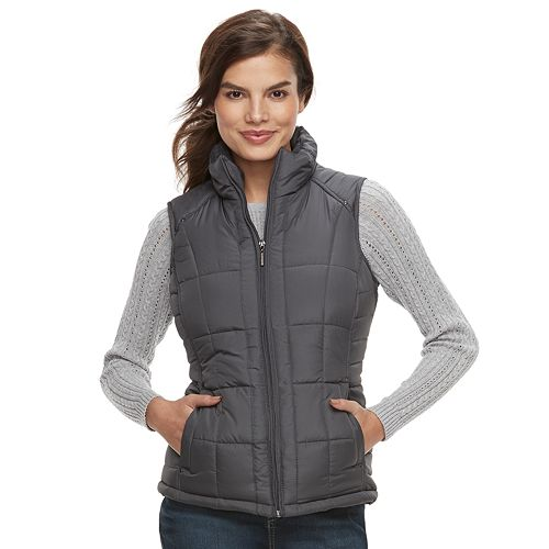 Women's Weathercast Quilted Puffer Vest