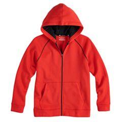 Boys 8-20 Tek Gear® Ultra-Soft Full-Zip Hoodie