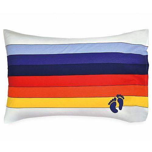Hang Ten Rainbow Stripe Standard Pillowcase