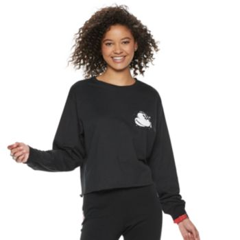 Disney's Mickey Mouse 90th Anniversary Juniors' Sketch Pocket Top