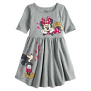 Disney's Mickey & Minnie Mouse Girls 4-10 Graphic Skater Dress by Jumping Beans®