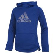 Girls 4-6x adidas Climalite Hooded Logo Pullover
