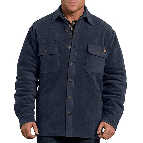 Men's Dickies Relaxed-Fit Fleece Quilted Shirt Jacket
