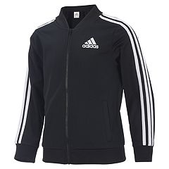 Girls 4-6x adidas Logo Stripe Track Jacket