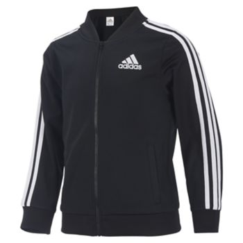 Girls 4-6x adidas Logo Stripe Track Jacket