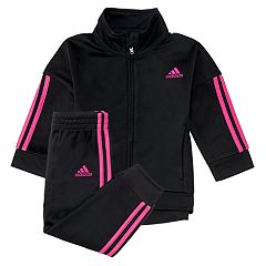 Girls 4-6x adidas Striped Track Jacket & Pants Set