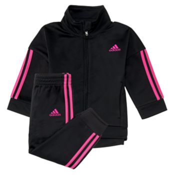 Girls 4-6x adidas Striped Track Jacket & Pants Set