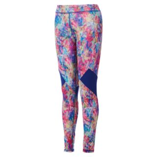 Girls 4-6x adidas Climalite Splatter Leggings