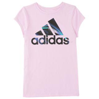 Girls 4-6x adidas Logo Graphic Tee