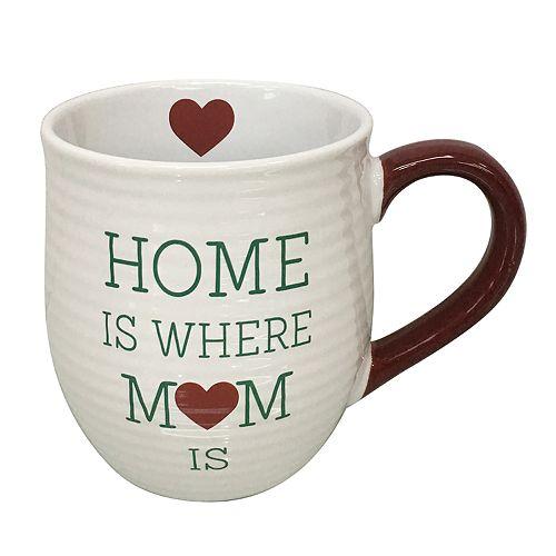 """St. Nicholas Square® """"Home is Where Mom Is"""" Mug"""