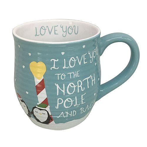 "St. Nicholas Square® ""I Love You to the North Pole and Back"" Mug"