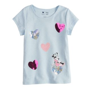Disney Minnie Mouse Girls 4-7 Heart Tee By Jumping Beans®