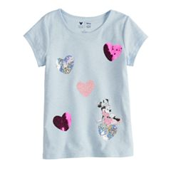 Disney Minnie Mouse Toddler Girl Heart Tee By Jumping Beans®