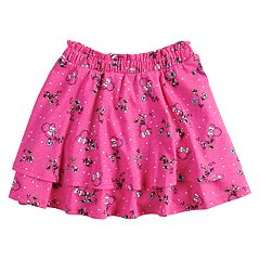 Disney's Minnie Mouse Girls 4-7 Tiered Skort by Jumping Beans®