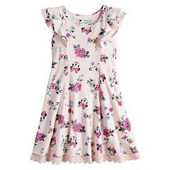 Disney's Minnie Mouse Girls 4-7 Floral Print Dress by Jumping Beans®