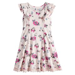 Disney's Minnie Mouse Toddler Girl Floral Print Dress by Jumping Beans®