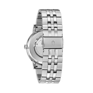 Bulova Men's Classic Stainless Steel Automatic Watch - 96C132