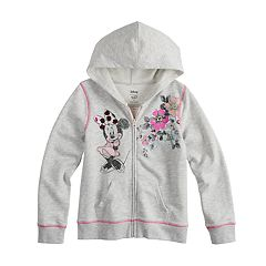Disney Minnie Mouse Girls 4-7 Full-Zip Hoodie By Jumping Beans®