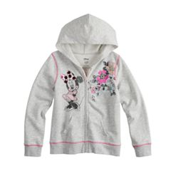 Disney Minnie Mouse Toddler Girl Full-Zip Hoodie By Jumping Beans®