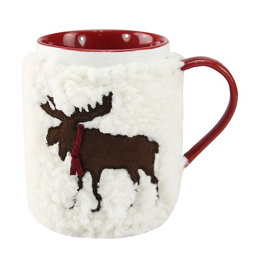 St. Nicholas Square® Moose Sherpa Mug