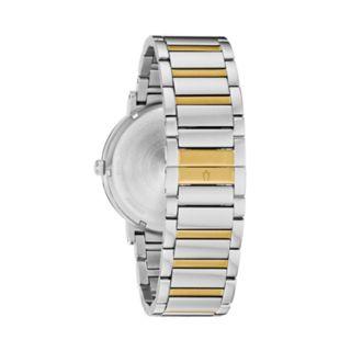 Bulova Men's Modern Diamond Accent Two Tone Stainless Steel Watch - 98D151