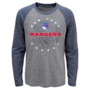 Boys 4-18 New York Rangers Promo Tee