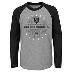 Boys 4-18 Vegas Golden Knights Promo Tee