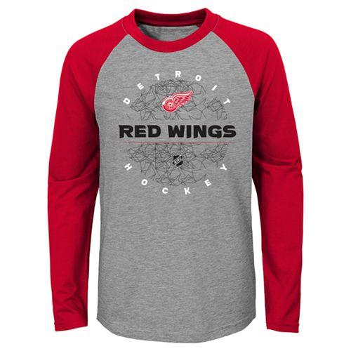 Boys 4-18 Detroit Red Wings Promo Tee