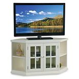 Leick Home Corner Bookshelf TV Stand