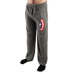 Men's Marvel Captain America Shield Sleep Pants