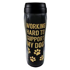 St. Nicholas Square® 'Working Hard to Support My Dog' Thermal Mug