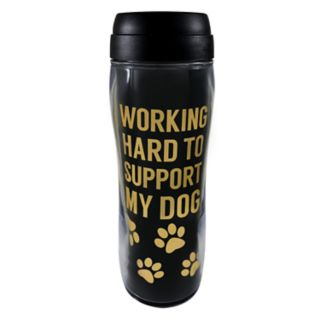 "St. Nicholas Square® ""Working Hard to Support My Dog"" Thermal Mug"