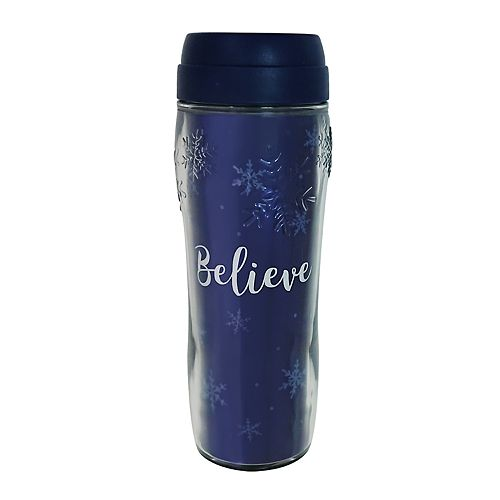 "St. Nicholas Square® ""Believe"" Thermal Mug"