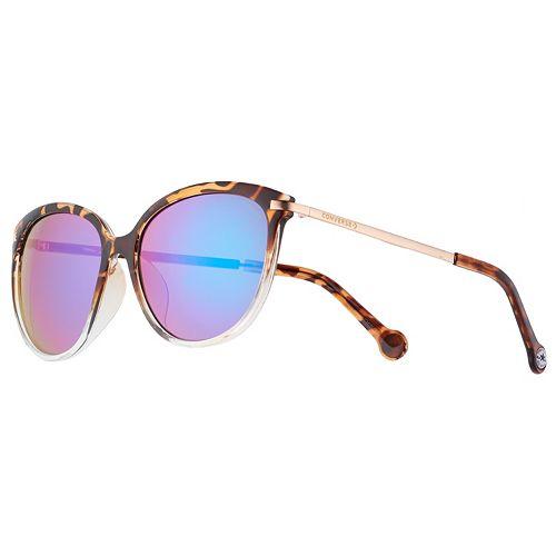 Converse 57mm Women's Round Sunglasses