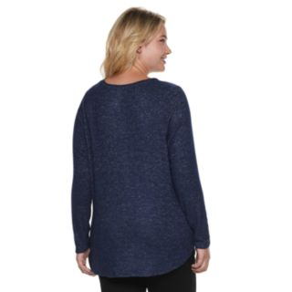 Plus Size SONOMA Goods for Life? Supersoft V-Neck Top