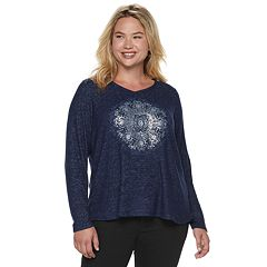 Plus Size SONOMA Goods for Life™ Supersoft V-Neck Top