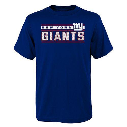 Boys 4-18 New York Giants Re-Generation Tee